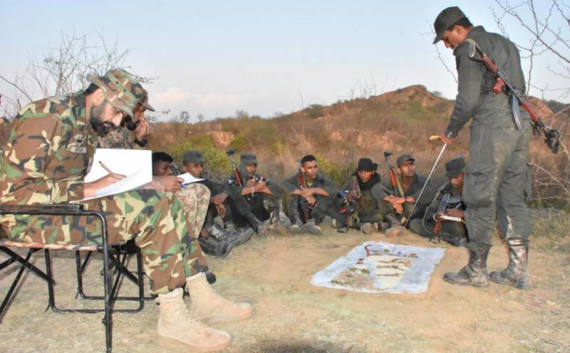 PATS competition under way at anti-terror centre in Kharian