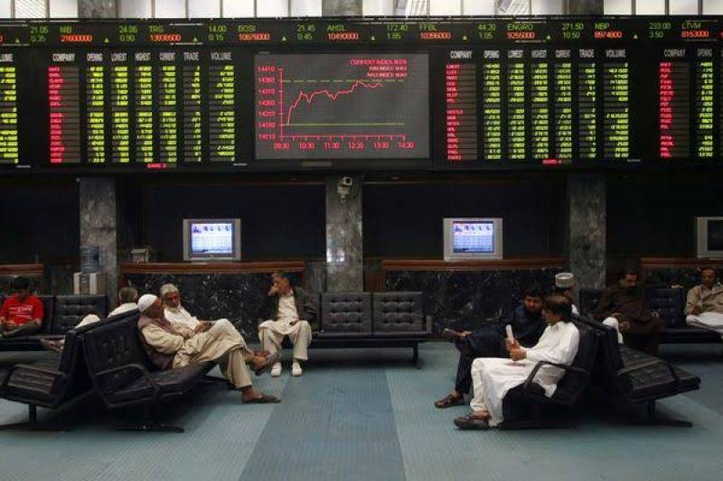 Share prices shoot up by 440 points