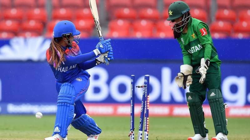 Thailand women shine in washed-out match against Pakistan