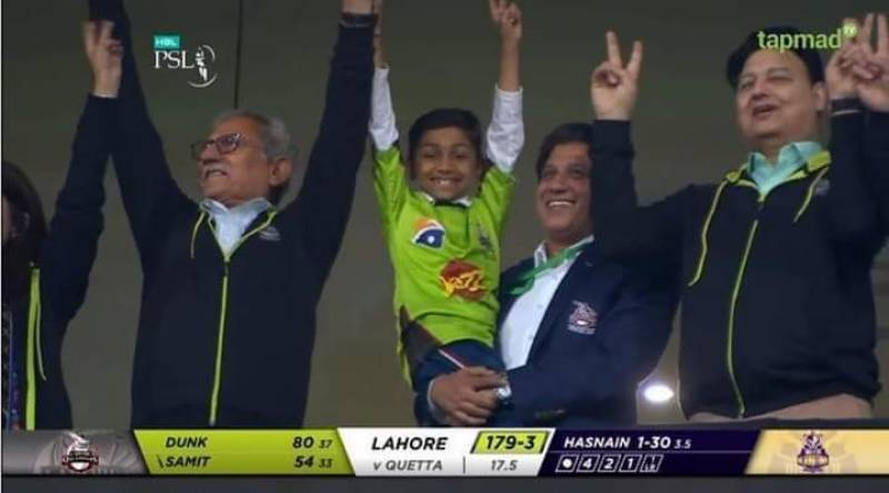 That's why people love Lahore Qalandars no matter what