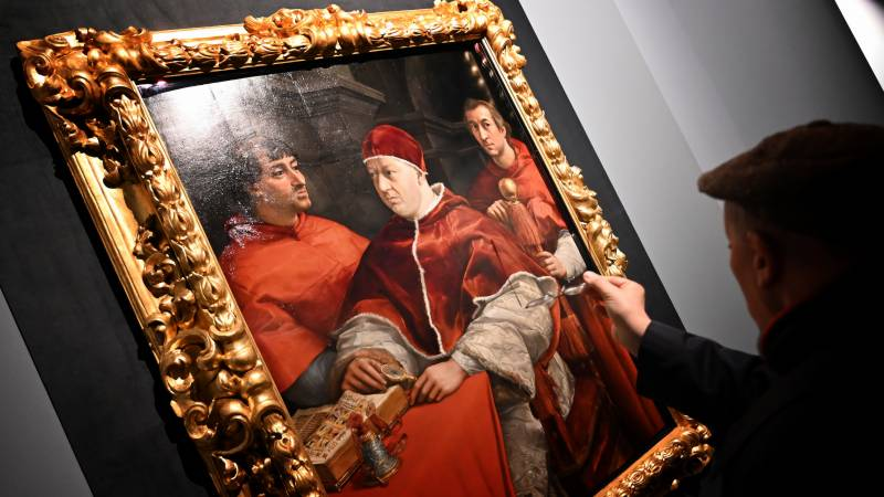 Blockbuster Rome show marks 500 years since Raphael's death
