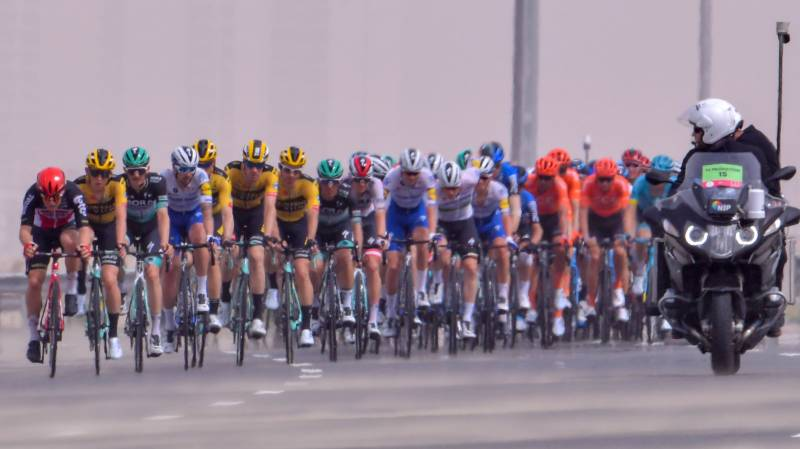 French cycling team Cofidis quarantined in UAE until March 14