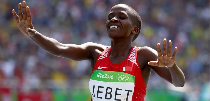 Four-year doping ban for Olympic women's steeple champion Jebet