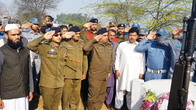 Police pay homage to heroes