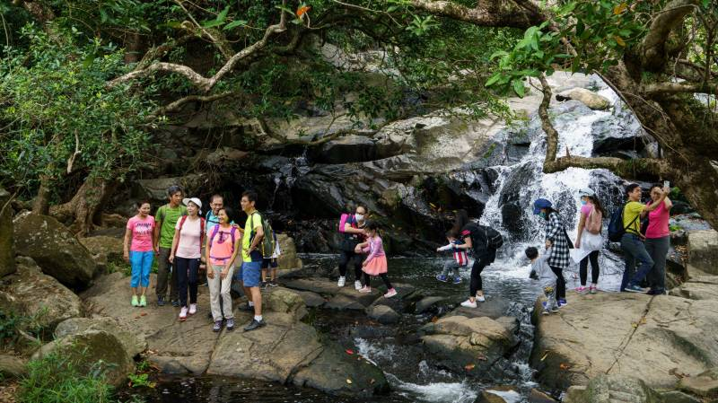 Hong Kongers hit hiking trails to escape coronavirus woes