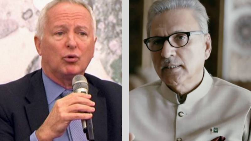 Munter fears water war with India, Alvi highlights Pak peace overtures