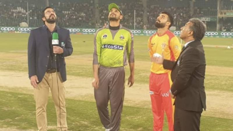 Qalandars win toss and elected to bowl first