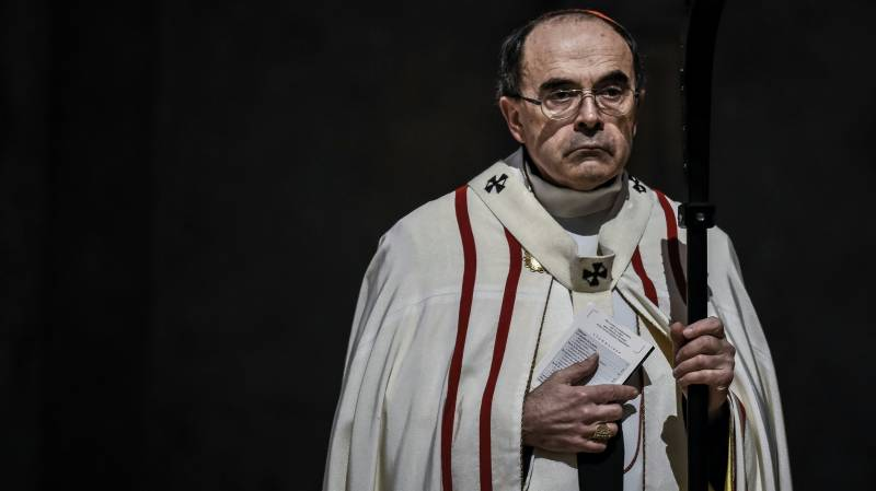 French cardinal quits after failing to report alleged sex abuser