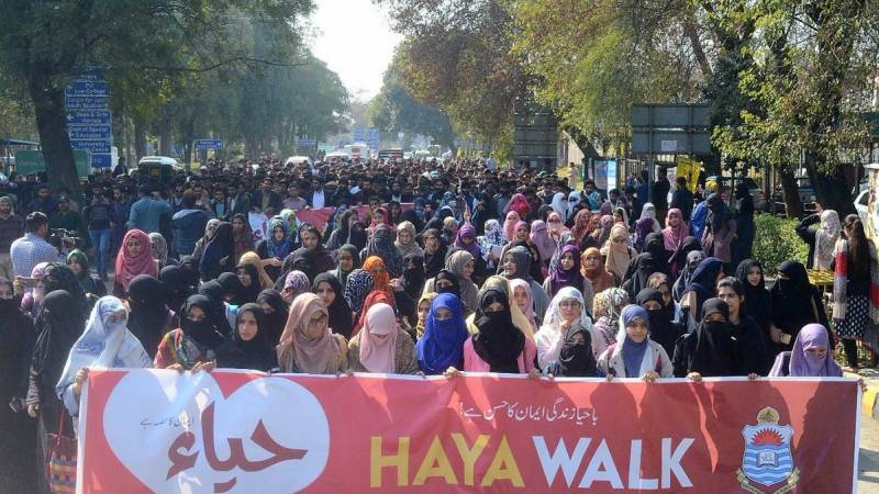 Haya March to counter Aurat March