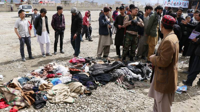 Kabul victims describe scenes of carnage after attack
