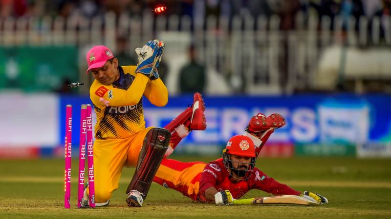 Zalmi win by 7 runs on D/L method against United