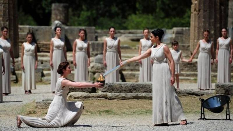 Olympic Flame lighting ceremony closed to public due to virus