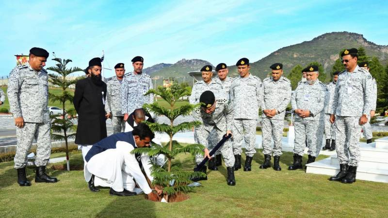 Navy launches plantation campaign for greener Pakistan