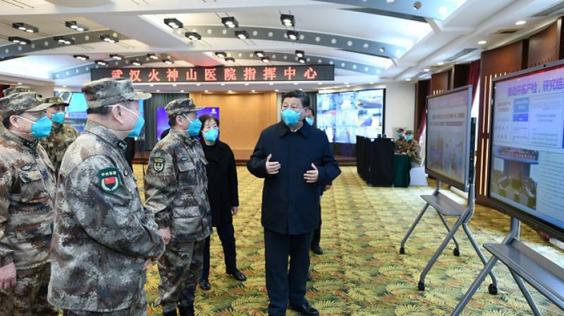 China's Xi says Wuhan has 'turned the tide' against virus epidemic