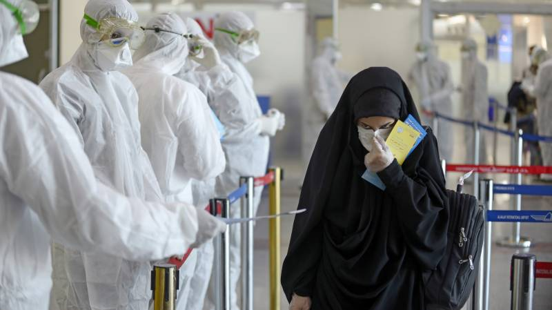 Iran reports 54 new coronavirus deaths, highest one-day toll