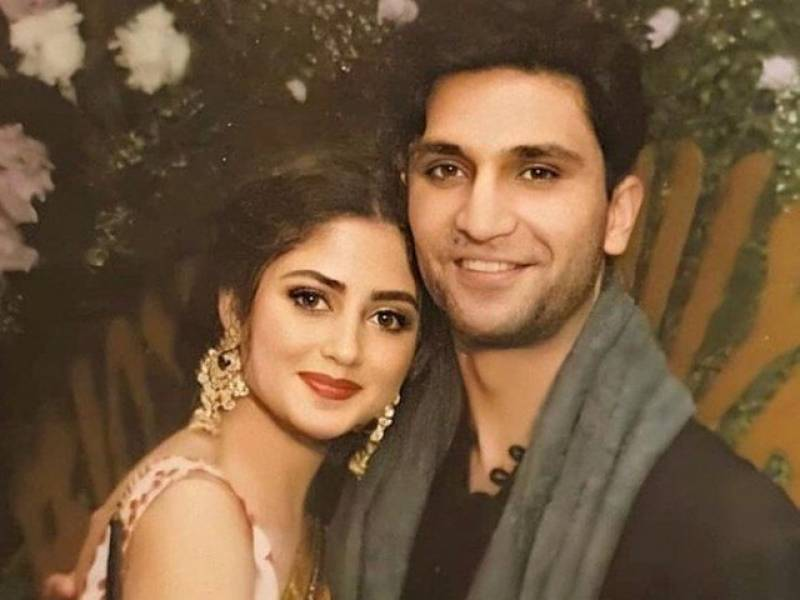 Sajal Aly, Ahad Raza Mir tie the knot in UAE