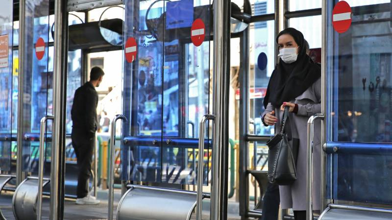 US sees new pressure point as coronavirus hits Iran