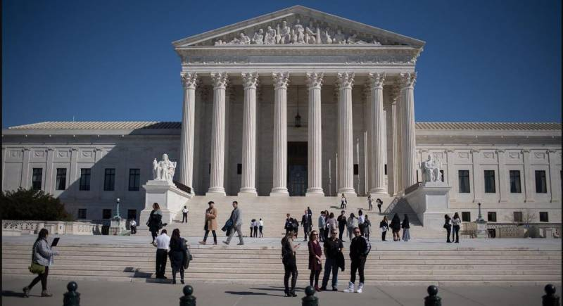US Supreme Court shuts for first time since 1918