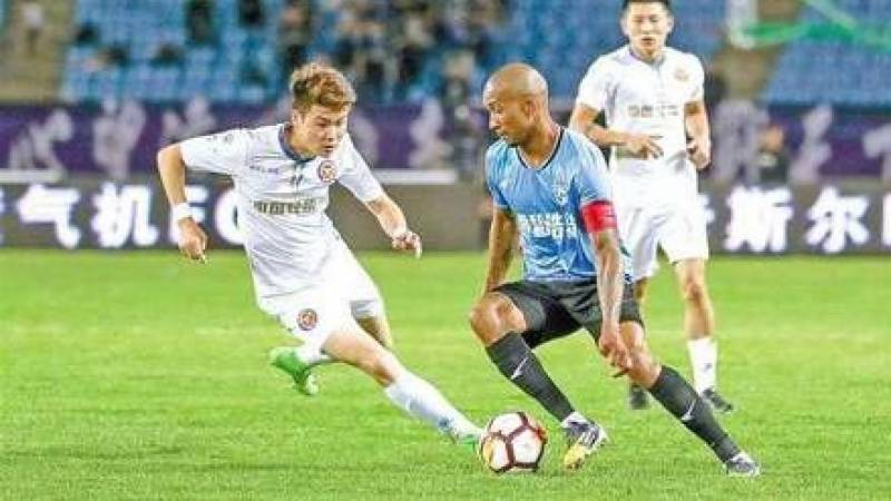 Brazil's Dorielton hospitalised with virus in China football 'first'