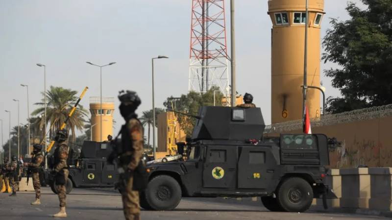 Rockets hit near Baghdad's high-security Green Zone