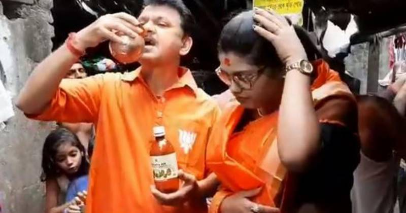 India political activist arrested for selling cow urine to combat virus