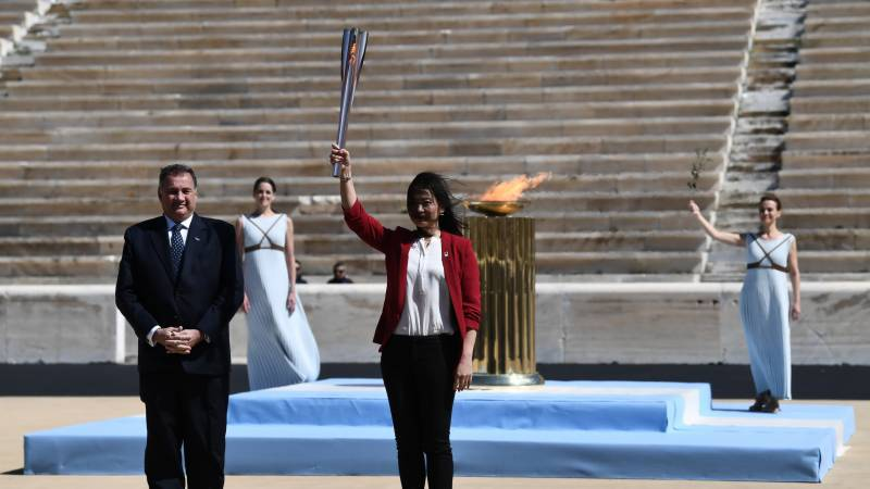 Light of Hope: Greece hands over Olympic flame to Tokyo 2020