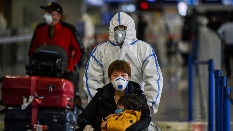 China reports zero new domestic virus cases for first time