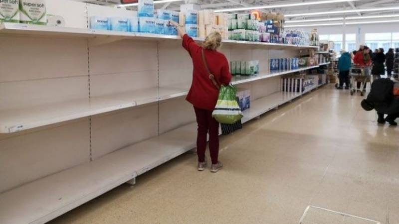 Britain tells shoppers to stop panic-buying