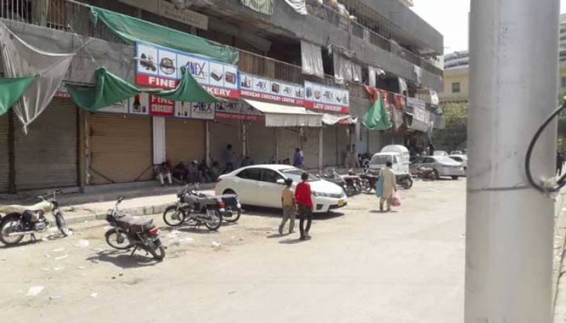 Karachi experiences first day of lockdown
