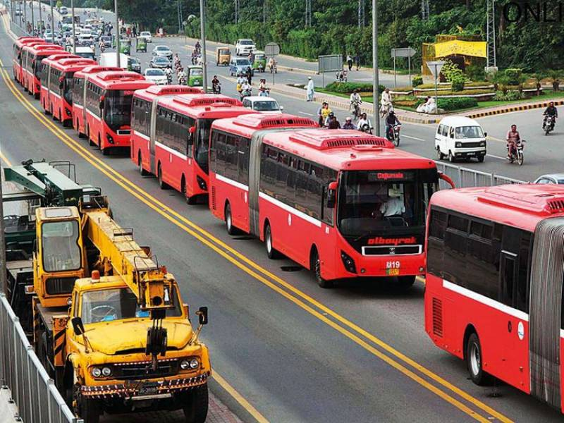 Lahore Metro Bus to ban travellers without masks