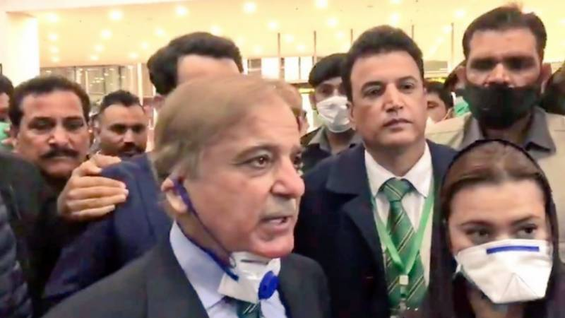 Shehbaz returns from London, goes into self-isolation