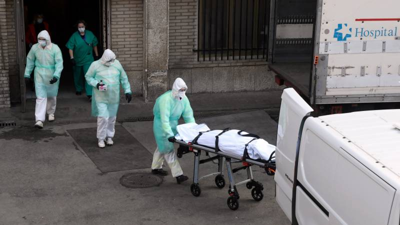 Spain virus death toll tops 4,000: government