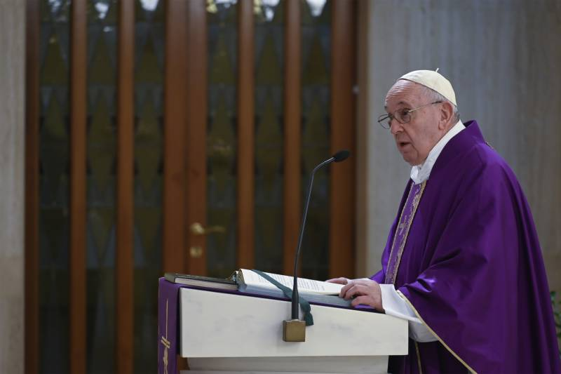 Pope's aide tested positive for coronavirus