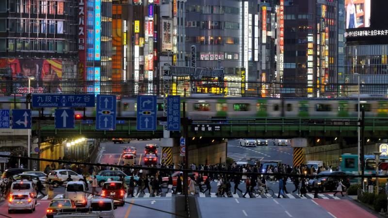 Japan business sentiment negative for first time since 2013: survey