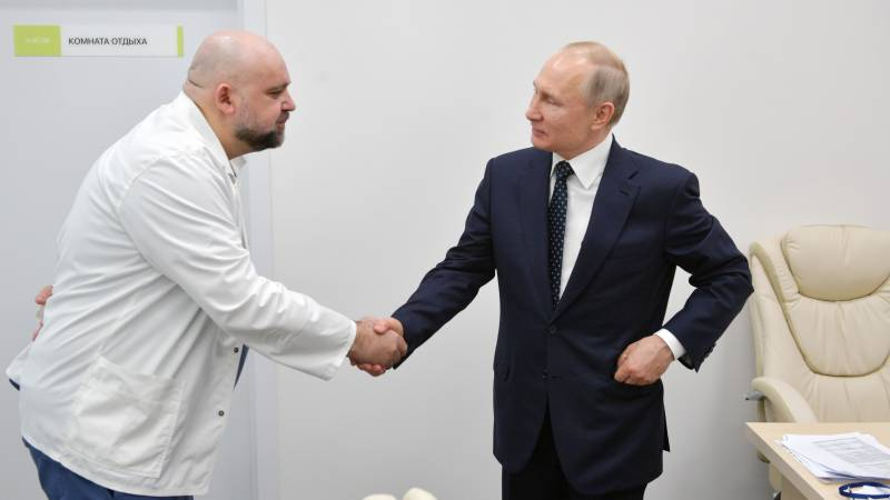Putin working remotely after meeting infected doctor