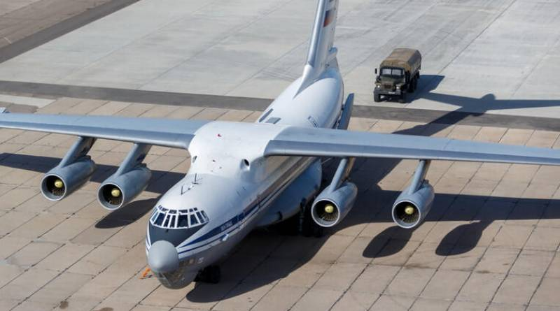 Russia sends medical aid to US