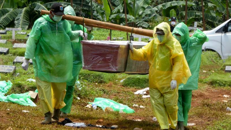 11-year-old Indonesian girl dies after contracting virus