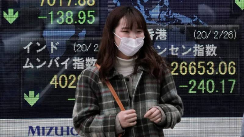 Asian markets boosted by hopes on virus but oil dips