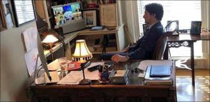 Canada's Trudeau to keep working from home 'as much as possible'