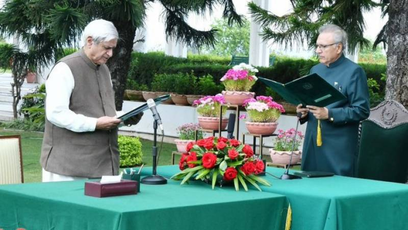 Fakhar Imam takes oath as National Food Security minister