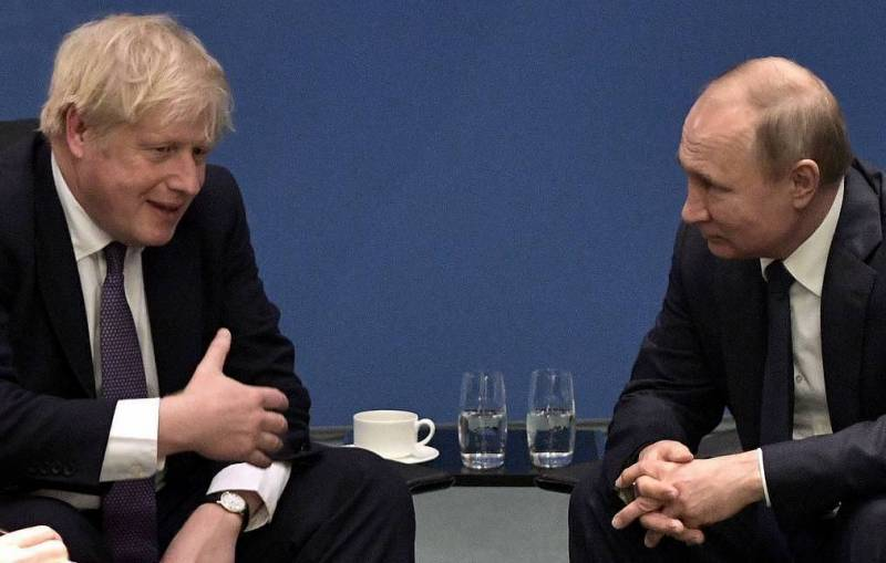 Putin says 'optimism and sense of humour' will help Johnson recover