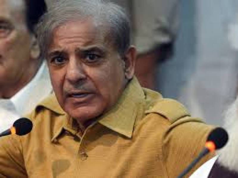 Shehbaz Sharif wishes UK PM early recovery