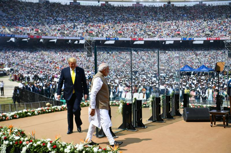 First came Trump, then virus: No play at world's biggest cricket stadium in India