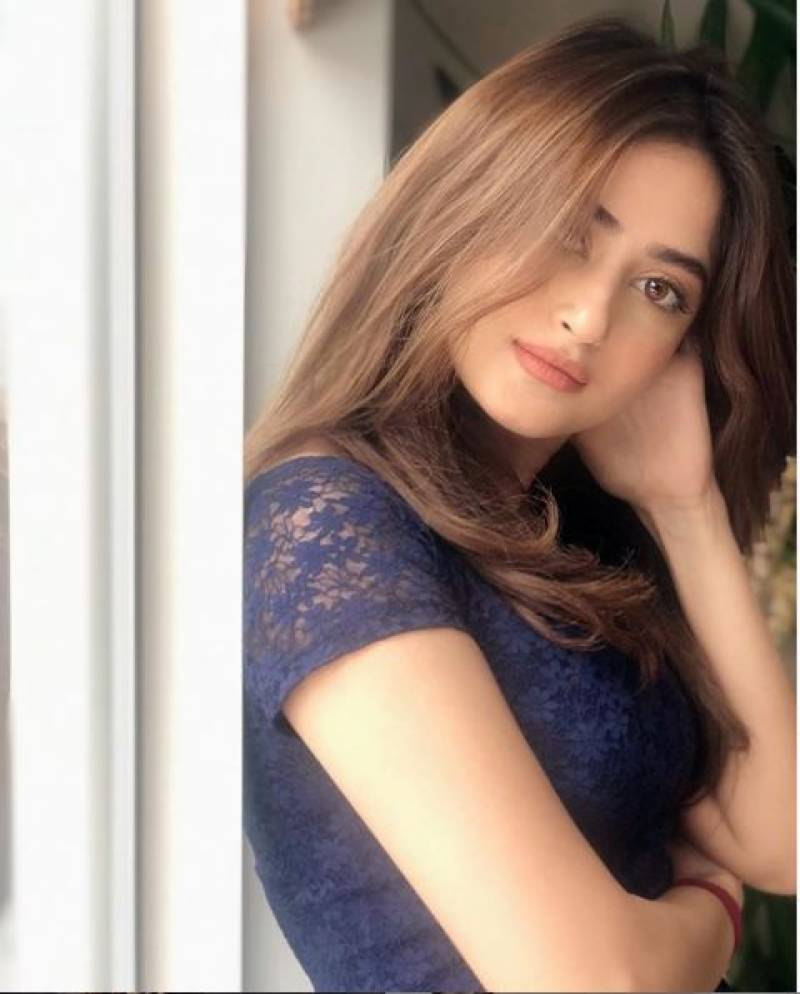 Sajal Ali shares throwback photo with father