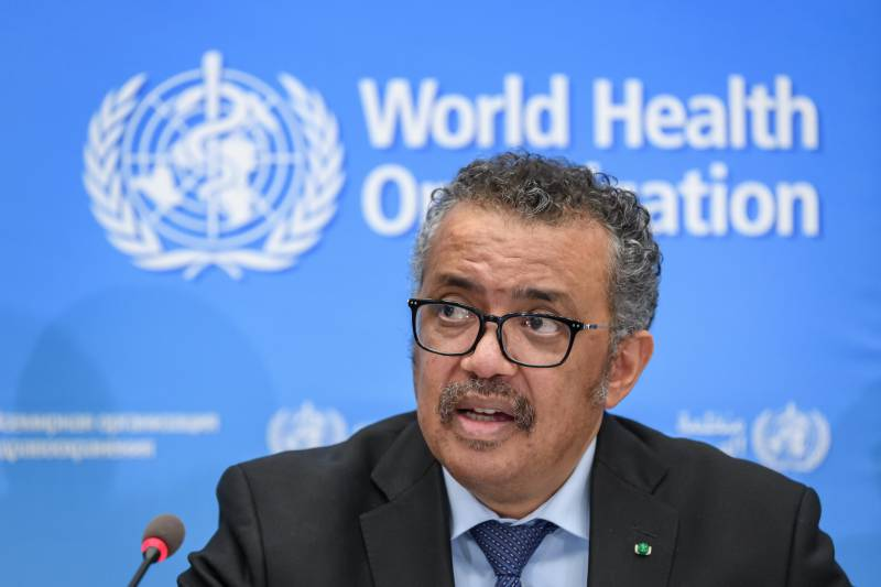 WHO urges virus unity after Trump attack