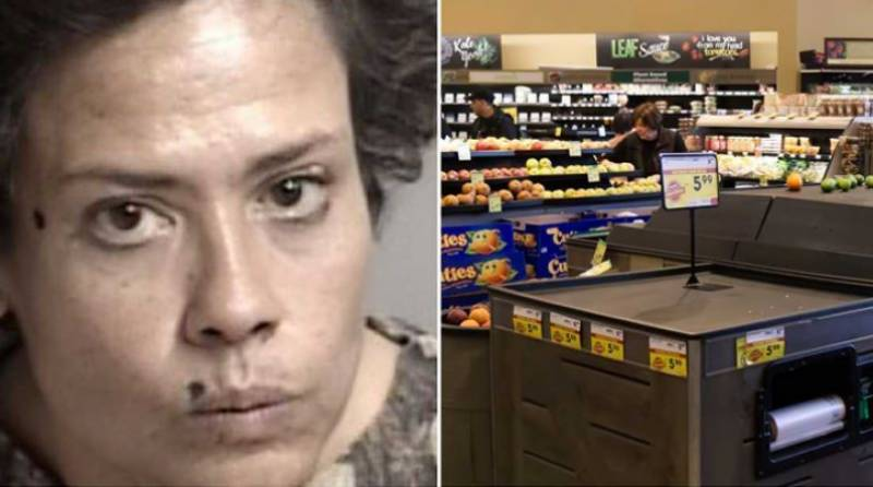 California woman arrested for licking $1,800 worth of groceries