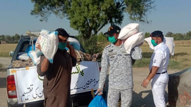 Navy on humanitarian assistance mission