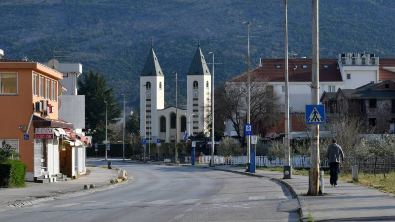 Empty of pilgrims, Bosnia's miracle town falls victim to the virus