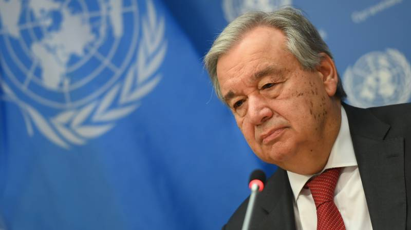 UN chief calls for Security Council unity over pandemic