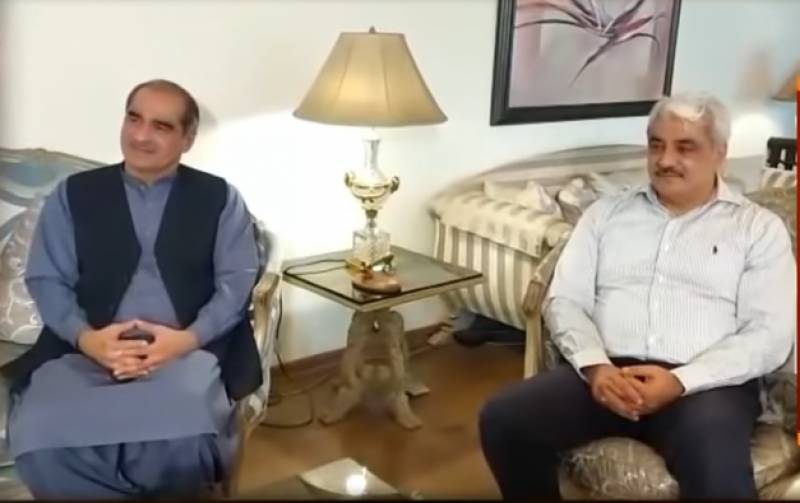 Khawaja brothers call on Parvez, inquire after Shujaat